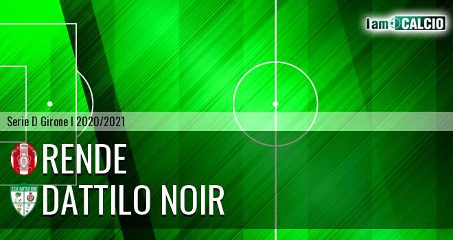 Rende - Dattilo Noir