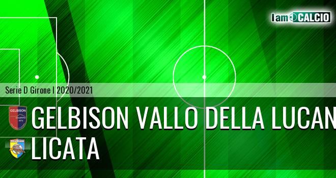 Gelbison Vallo Della Lucania - Licata