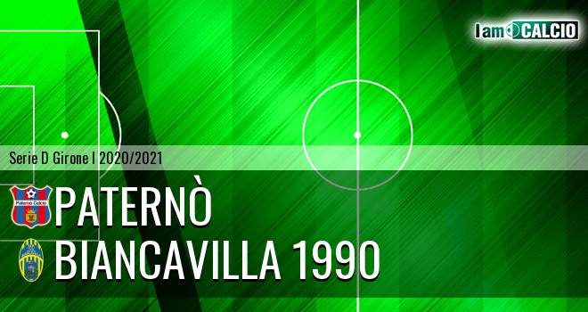 Paternò - Biancavilla 1990