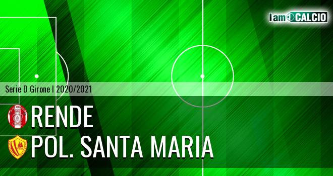 Rende - Pol. Santa Maria