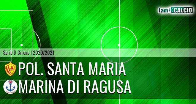 Pol. Santa Maria - Marina di Ragusa