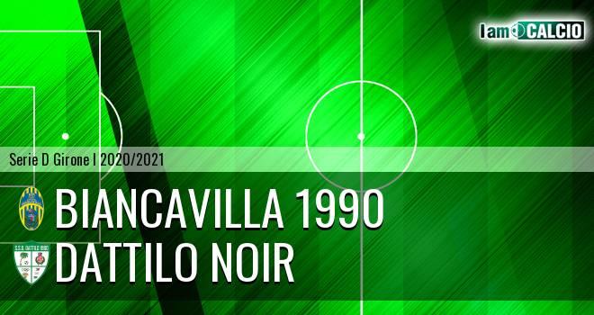 Biancavilla 1990 - Dattilo Noir