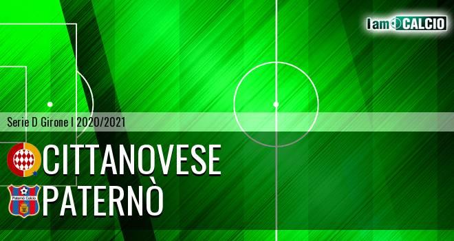 Cittanova Calcio - Paternò