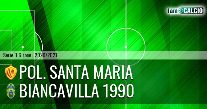 Pol. Santa Maria - Biancavilla 1990