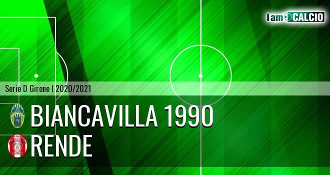Biancavilla 1990 - Rende