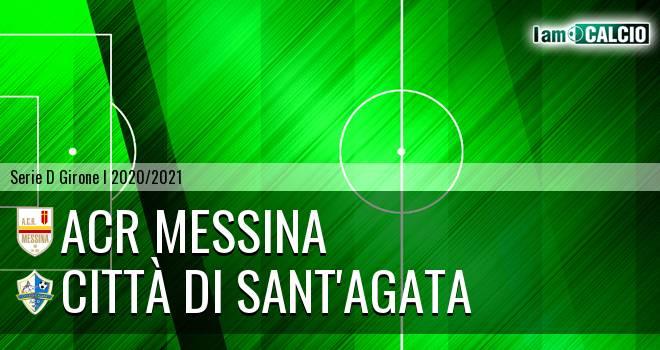 ACR Messina - Città di Sant'Agata