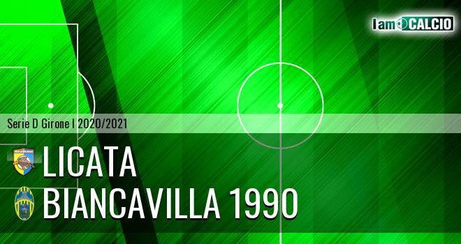 Licata - Biancavilla 1990