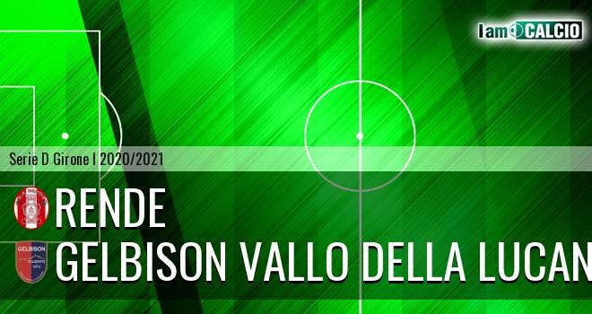 Rende - Gelbison Vallo Della Lucania