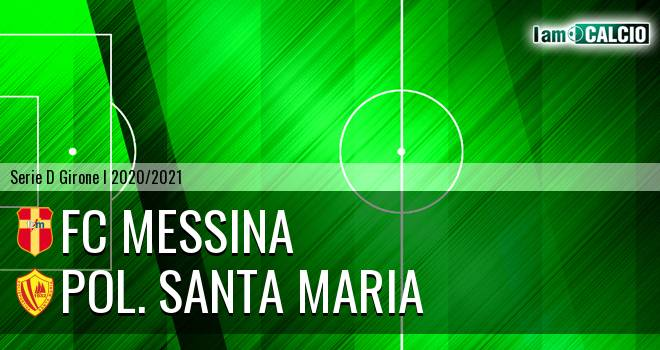 FC Messina - Pol. Santa Maria