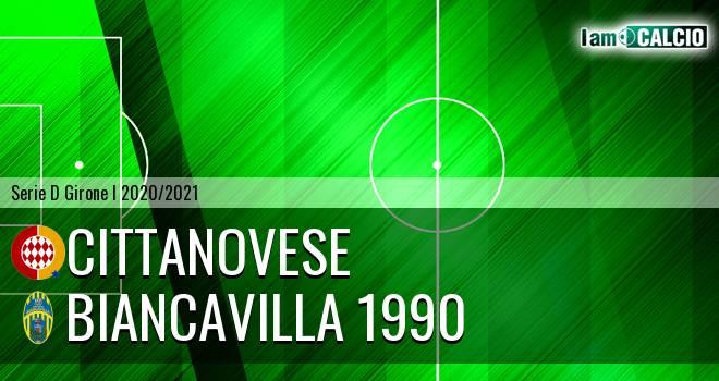 Cittanovese - Biancavilla 1990