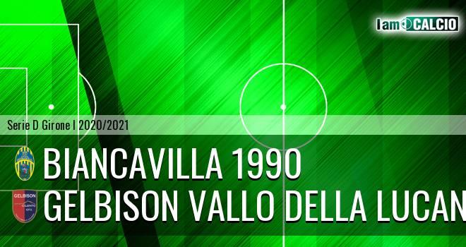 Biancavilla 1990 - Gelbison Vallo Della Lucania