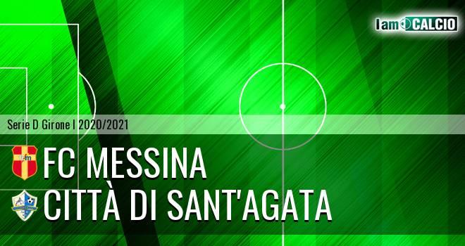 FC Messina - Città di Sant'Agata