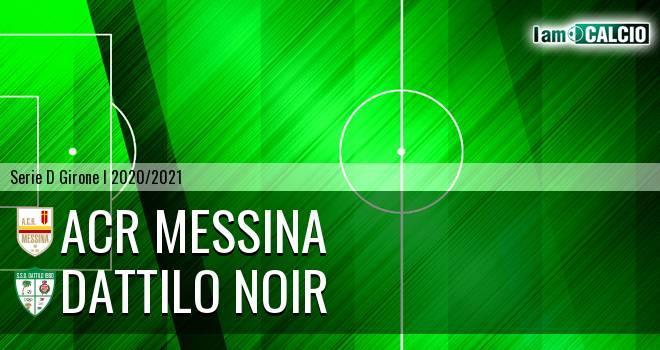 ACR Messina - Dattilo Noir