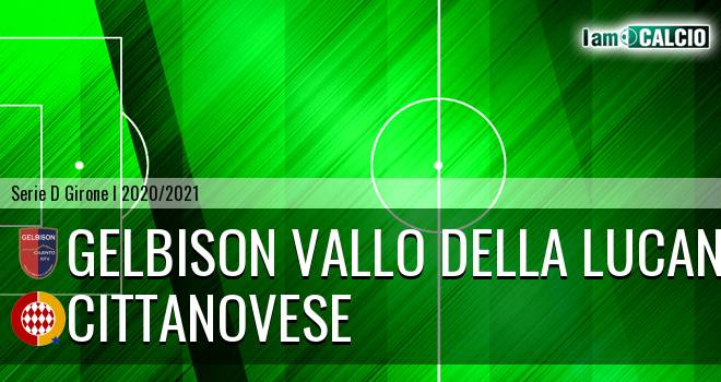 Gelbison Vallo Della Lucania - Cittanovese