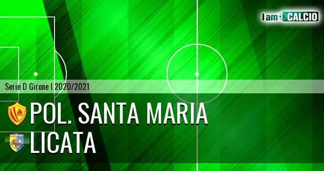 Pol. Santa Maria - Licata