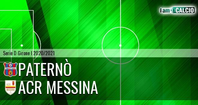Paternò - ACR Messina