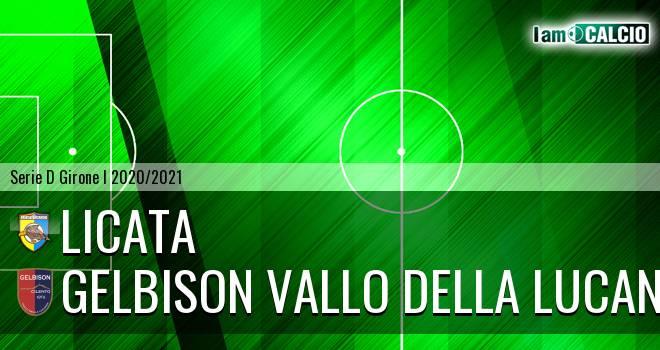 Licata - Gelbison Vallo Della Lucania