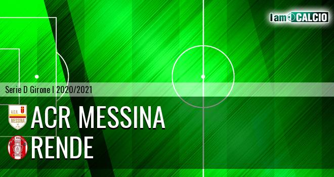 ACR Messina - Rende