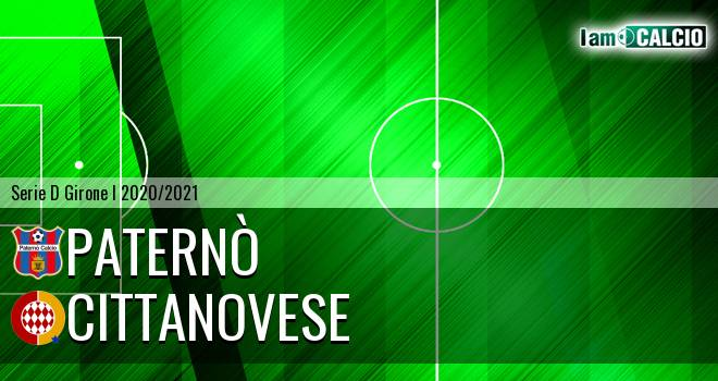 Paternò - Cittanova Calcio