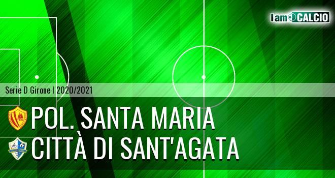 Pol. Santa Maria - Città di Sant'Agata