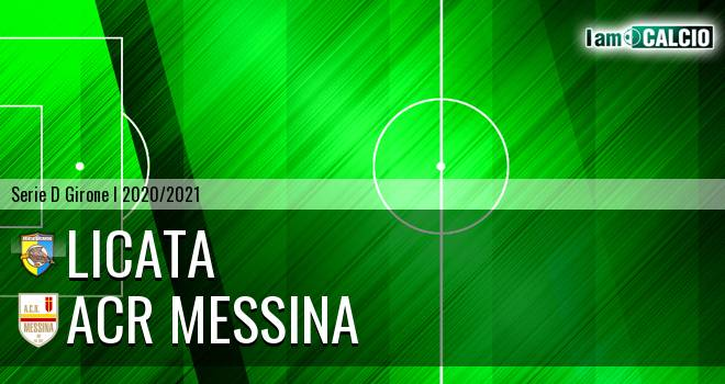 Licata - ACR Messina