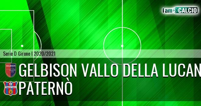 Gelbison Vallo Della Lucania - Paternò