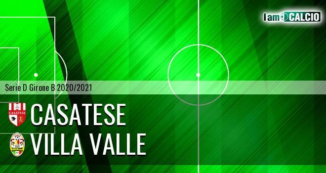 Casatese - Villa Valle