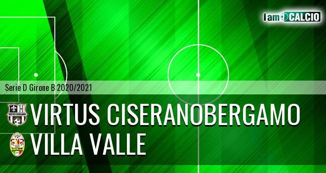 Virtus Ciserano Bergamo - Villa Valle