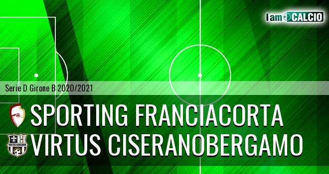 Sporting Franciacorta - Virtus Ciserano Bergamo