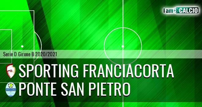 Sporting Franciacorta - Ponte San Pietro