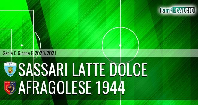 Sassari Latte Dolce - Afragolese 1944