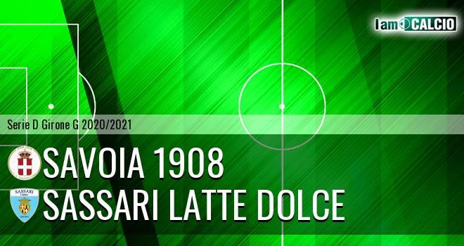 Savoia 1908 - Sassari Latte Dolce