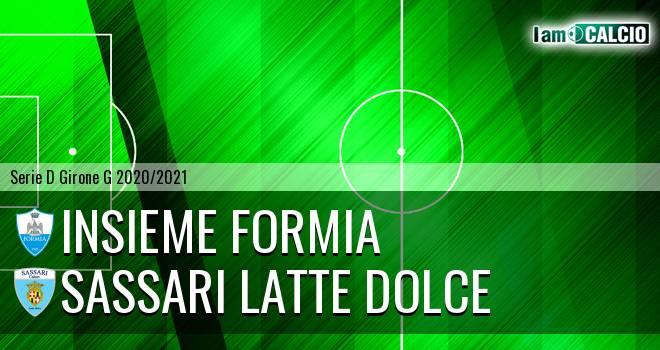 Insieme Formia - Sassari Latte Dolce