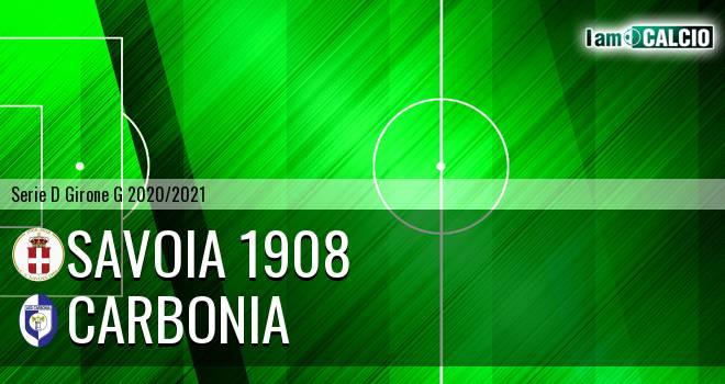 Savoia 1908 - Carbonia