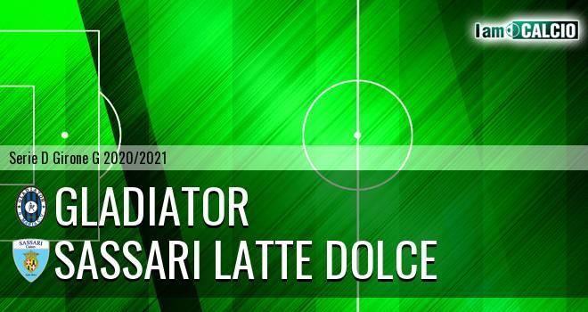 Gladiator - Sassari Latte Dolce