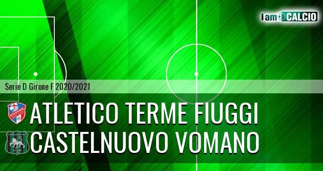 Atletico Terme Fiuggi - Castelnuovo Vomano