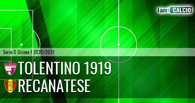Tolentino 1919 - Recanatese