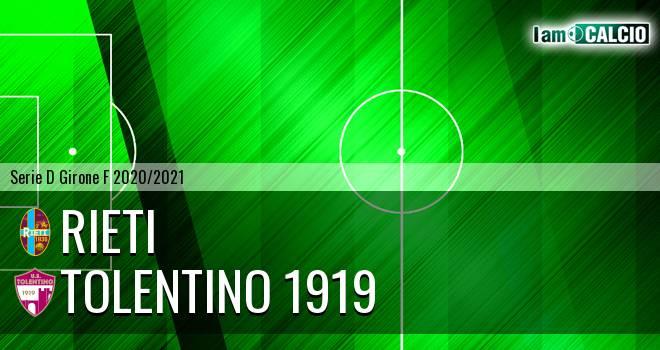 Rieti - Tolentino 1919