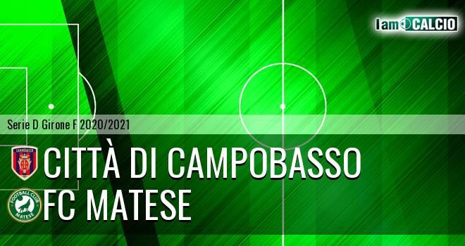 Città di Campobasso - FC Matese