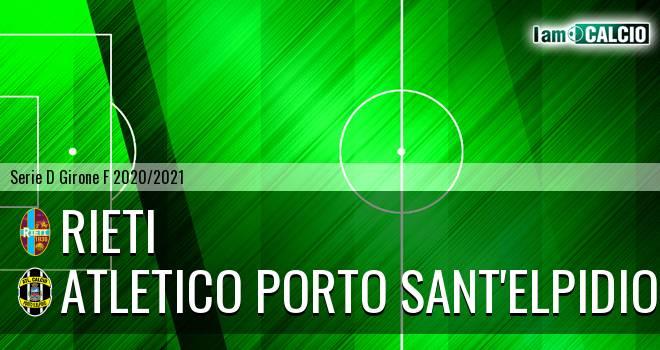 Rieti - Atletico Porto Sant'Elpidio