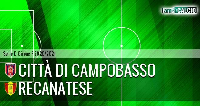 Città di Campobasso - Recanatese