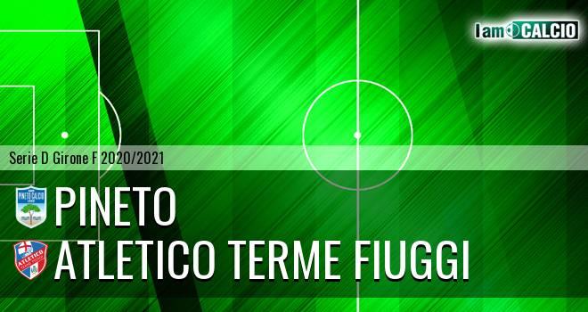 Pineto - Atletico Terme Fiuggi