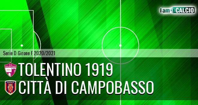 Tolentino 1919 - Città di Campobasso