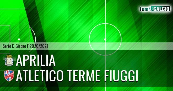 Aprilia - Atletico Terme Fiuggi