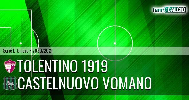 Tolentino 1919 - Castelnuovo Vomano