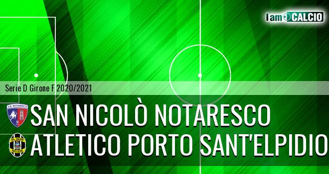 San Nicolò Notaresco - Atletico Porto Sant'Elpidio