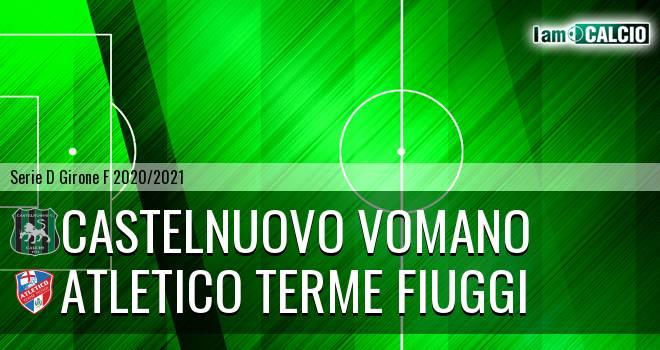 Castelnuovo Vomano - Atletico Terme Fiuggi