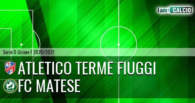 Atletico Terme Fiuggi - FC Matese