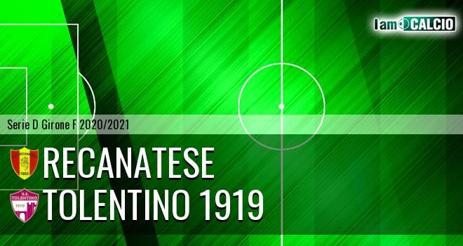 Recanatese - Tolentino 1919