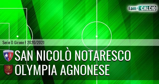 San Nicolò Notaresco - Olympia Agnonese